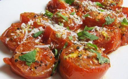 Scarsdale cozido tomates