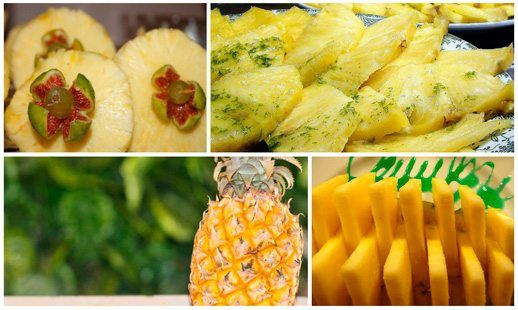 Imágenes de piñas para la dieta